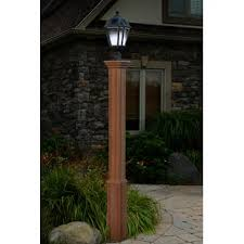 Patio Post Lights Solar Powered Post Lights You Ll Wayfair