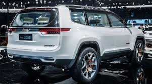 new jeep wagoneer concept 2018 jeep yuntu concept wagoneer price photo specs review suv