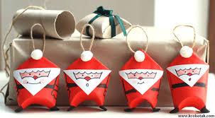 how to make toilet paper roll santa diy crafts handimania