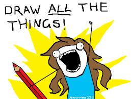 All Of The Things Meme - draw all the things by narxinba222 on deviantart