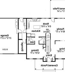 Backyard House Plans by Ranch Style House Floor Plan Ranch Style House Photos After