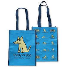 eco bag teddy s doggie bag re usable eco bag teddy the dog