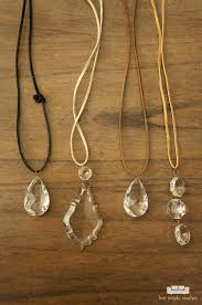 vintage crystal pendant necklace images Vintage chandelier crystal necklaces two purple couches jpg