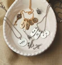 Keepsake Charms Jewel Kade Monogram Initial Necklace Available March 1 2014