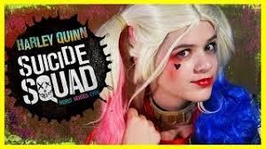 harley quinn squad makeup tutorial diy cosplay costume kittiesmama