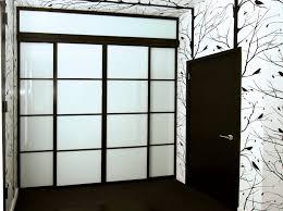 Custom Glass Closet Doors Custom Sliding Glass Closet Doors With Beam 96 Transom Made
