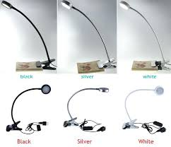 clip on bed light reading lights for bed light headboard clip led head paragonit