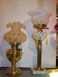 Tiny Lamp by Fenton Lamp Glass