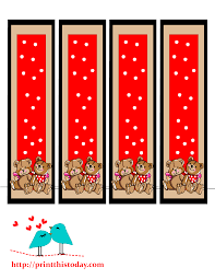 free printable halloween bookmarks teddy bear bookmarks to print