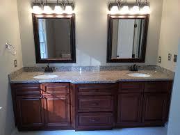 Solid Wood Bathroom Cabinet Bathroom Vanities Solid Wood Two Sinks Vanity Best For Top Storage