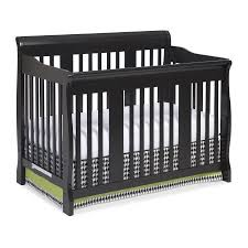 Black 4 In 1 Convertible Crib Storkcraft Tuscany 4 In 1 Convertible Crib Black Walmart