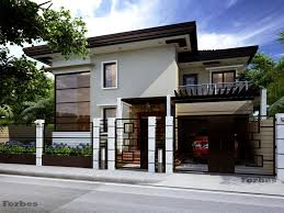 proposed 2 storey residence home design