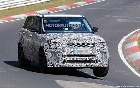 range rover svr engine land rover range rover sport svr spy shots and video autozaurus