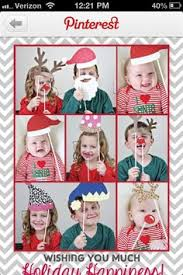 a blog with links to free christmas photo card templates cute