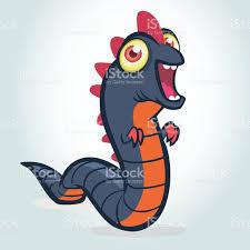 cute cartoon worm monster halloween monster snake stock vector art