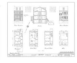 file 4 10 grove street row houses new york new york county ny