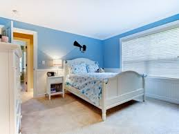 Light Blue Walls by Bedroom White Bed Paint Squaure Shape In Light Blue Kids Room
