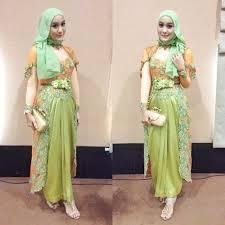 model baju kebaya muslim 2 inspirasi model baju kebaya modern yang elegan dan mewah