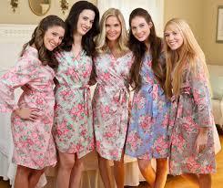 and bridesmaid robes bridesmaid floral robes the paisley box