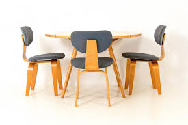 Flexible Love Folding Chair by Vintage Drop Leaf Table With 3 Chairs By Cees Braakman For Pastoe
