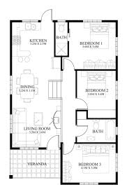 house designer plans single house plan floor area 90 square meters house