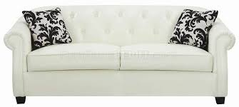 remarkable off white leather sofa off white bonded leather sofa