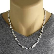 curb link necklace images Men 39 s 925 sterling silver curb link chain necklace 150 etsy jpg