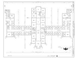 Floor Plan Hospital File Second Floor Plan St Elizabeths Hospital Center Building