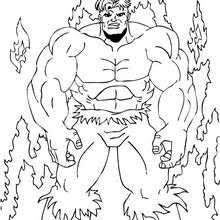 hulk raging mad coloring pages hellokids