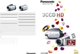 panasonic camcorder 3ccd hd user guide manualsonline com
