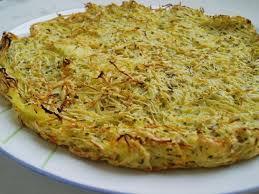 cuisiner le celeri recette de galette de pommes de terre et céleri la recette