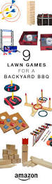 lawn games for a backyard bbq or summer party pool party