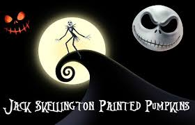 nightmare before christmas pumpkin stencils skellington pumpkin isleofhalloween