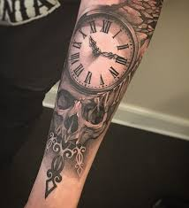 trends relistic and skull forearm for