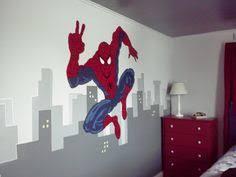 spiderman mural donavon u0027s room pinterest spiderman murals