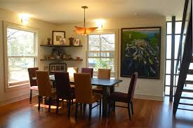 Living Room Corner Decor Marvelous Floating Corner Shelves In Dining Room Contemporary With