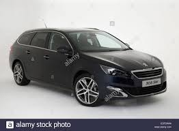 peugeot 308 2015 2015 peugeot 308 feline estate stock photo royalty free image