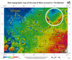 Mars Map Mission To Mars