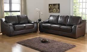 Tufted Leather Sofa Set by Bedford Brown Leather Sofa Set U2013 Plushemisphere