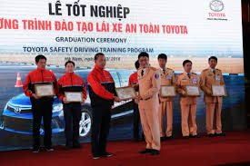 tmc toyota the graduation ceremony to organize for core instructors of the