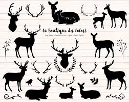 champagne silhouette png black deer silhouette clipart cute graphics png christmas
