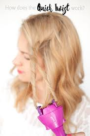 scunci twist the easiest way to do a waterfall twist braid hair