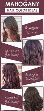 mahogany hair color chart the sexiest mahogany hair color inspiration hair fashion online