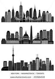city skylines png svg ai enjoy silhouette pinterest