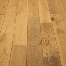 Distressed Engineered Wood Flooring Farmhouse Antique Golden Oak Brushed Engineered Wood
