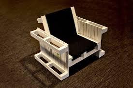 siege en palette fauteuils construits avec des palettes en boismeuble en palette