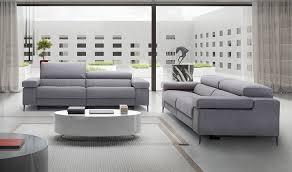 canape design gris canapé en tissu avec avec assise électrique relax