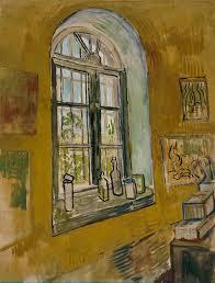 vincent van gogh painting st remy nursing home window oil painting