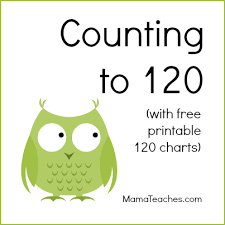 counting to 120 free printable 120 chart mamateaches com