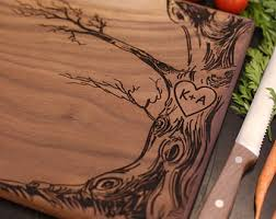 personalized wedding cutting board cutting boards etsy